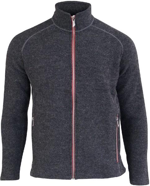 Danny - Jacke aus Wolle - graphite marl