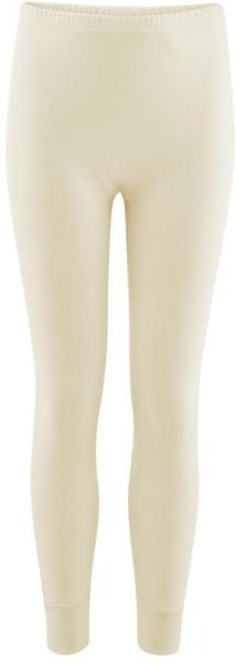 Kinder Lange Unterhose aus Bio-Baumwolle - natur