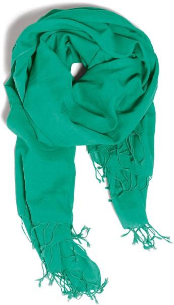 Wrap - Schal aus Bio-Baumwolle - vivid green - Bild 1
