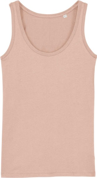 Tank-Top aus Bio-Baumwolle - faded nude