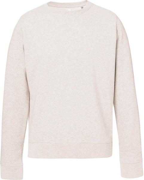 Sweatshirt Bio-Baumwolle - cream heather grey