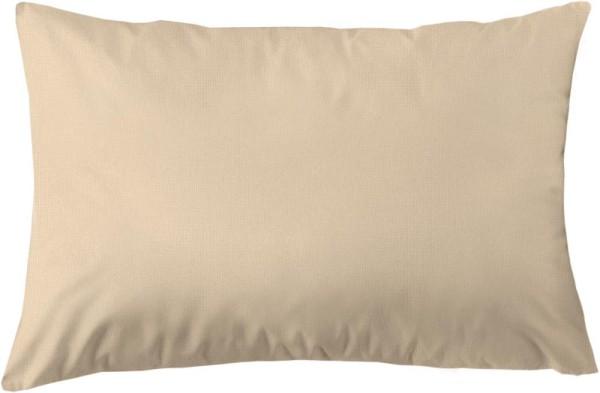 Kissenbezug aus Bio-Baumwolle 60x40 cm - beige