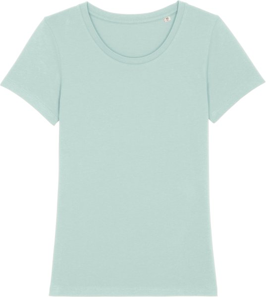 T-Shirt aus Bio-Baumwolle - caribbean blue
