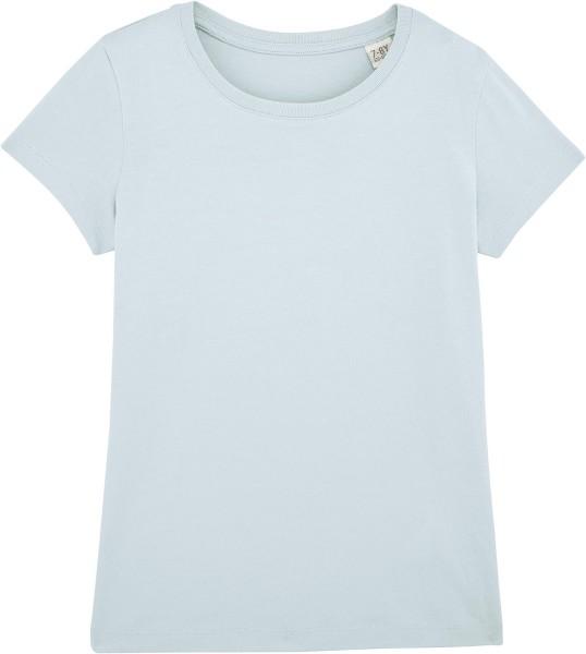 Kinder T-Shirt Bio-Baumwolle - baby blue