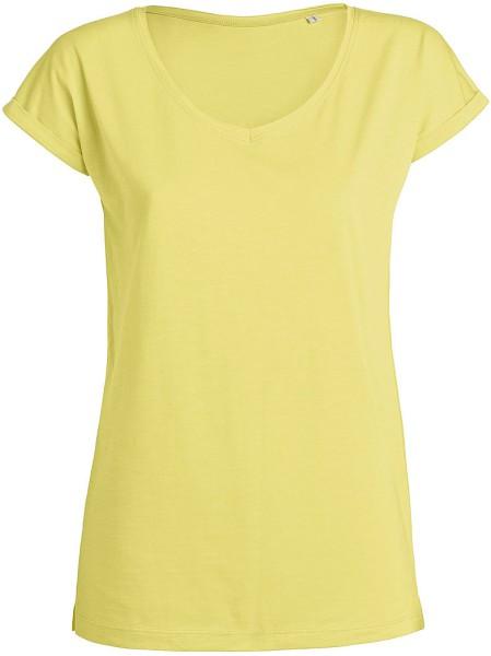 Invents Slub - T-Shirt aus Bio-Baumwolle - iris yellow - Bild 1
