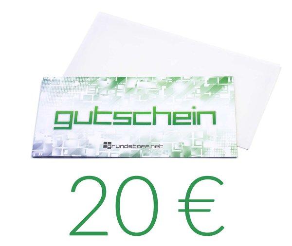 20,- EUR Geschenkgutschein - neutrales Design - Bild 1
