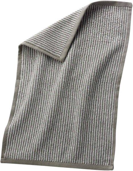 Gäste-Handtuch aus Bio-Baumwolle 30x50 cm kaschmir/natur