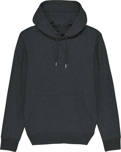 Unisex Hoodie aus Bio-Baumwolle - dark heather grey