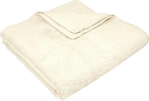 Flauschiges Badetuch aus Bio-Baumwolle - 70x140 natur