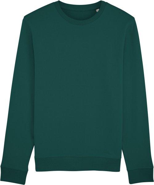 Unisex Sweatshirt aus Bio-Baumwolle - glazed green