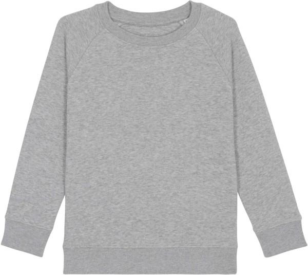 Kinder Sweatshirt aus Bio-Baumwolle - heather grey