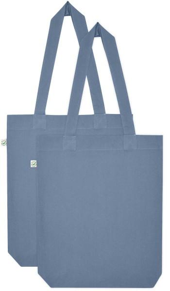 Doppelpack - Organic Cotton Bag - light denim