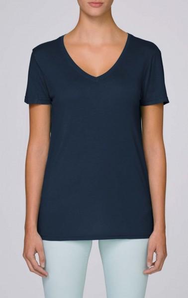 Seduces Modal - V-Neck T-Shirt aus Modal - french navy - Bild 1