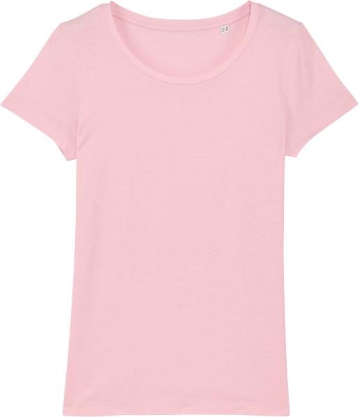 Jersey-Shirt aus Bio-Baumwolle - cotton pink