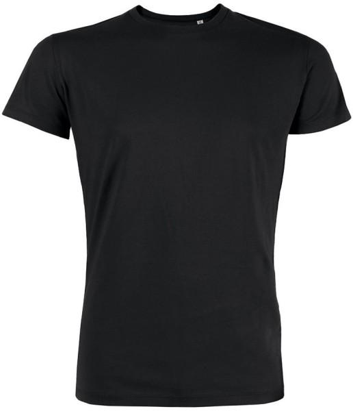 Herren T-Shirt aus Bio-Baumwolle schwarz