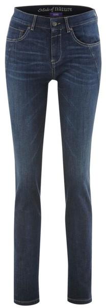 5-Pocket-Jeans aus Bio-Baumwolle - dark blue denim