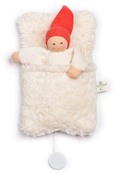 Nucki-Spieluhr mit Schlafsack - Bio-Baumwolle - Bild 1
