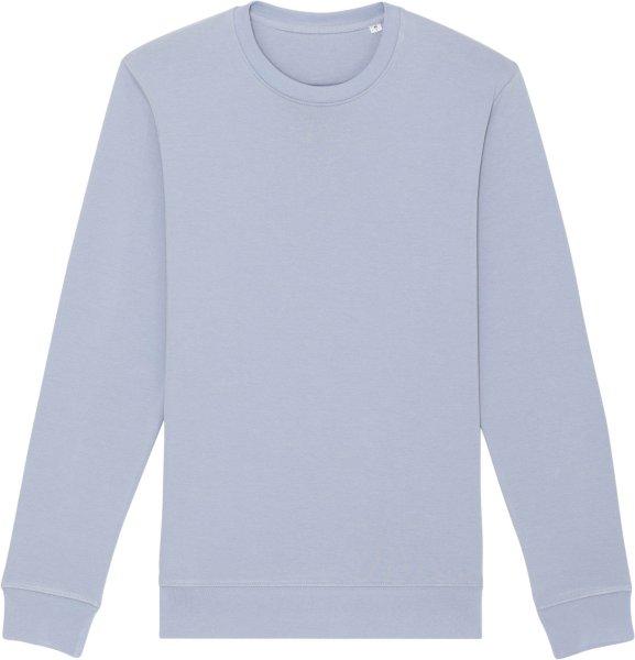 Unisex Sweatshirt aus Bio-Baumwolle - serene blue
