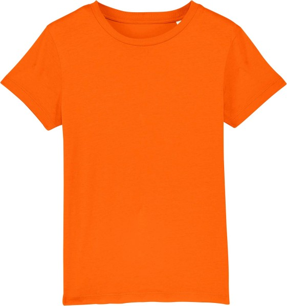 Kinder T-Shirt aus Bio-Baumwolle - bright orange