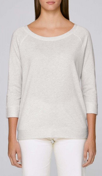 Amazes - Sweater aus Biobaumwolle - cream heather grey - Bild 1