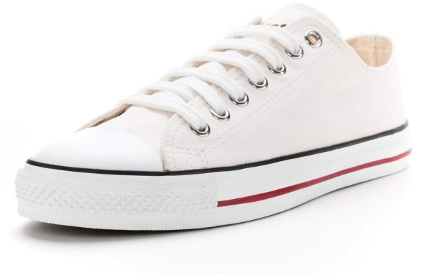 Fair Trainer White Cap Lo Cut - just white/just white