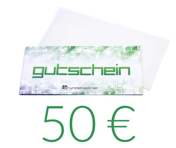 50,- EUR Geschenkgutschein - neutrales Design - Bild 1