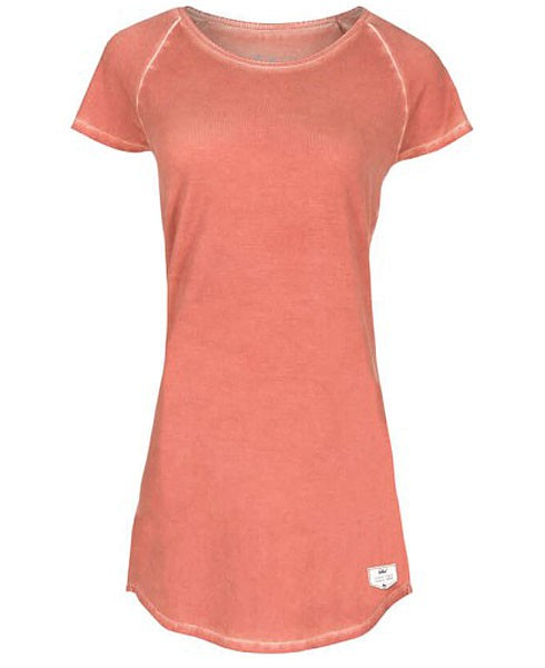 Moon - Kleid aus Bio-Baumwolle - orange - Bild 1