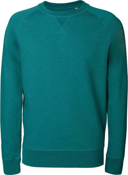 Strolls - Sweatshirt aus Bio-Baumwolle - mid heather teal