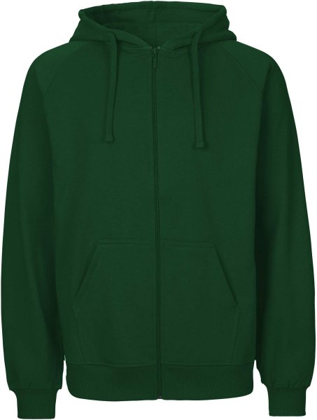 Zip-Up Hoodie aus Fairtrade Bio-Baumwolle - bgreen