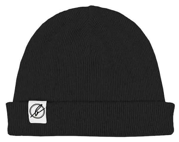 Wintermütze aus Bio-Baumwolle - schwarz - Bild 1