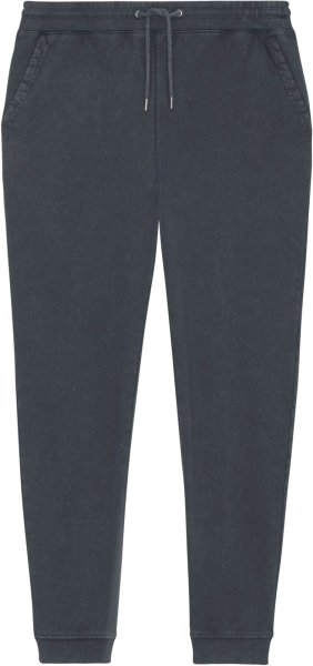 Vintage Jogginghose aus Bio-Baumwolle - g. dyed aged india ink grey