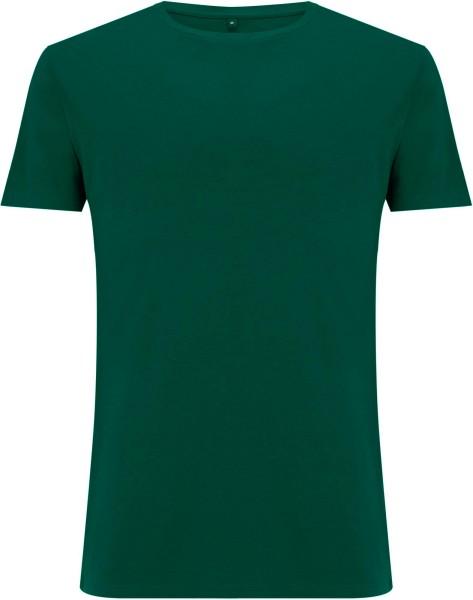 Ecovero T-Shirt aus Viskose und Bio-Baumwolle - bottle green