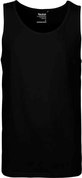 Tank Top aus Fairtrade Bio-Baumwolle - black