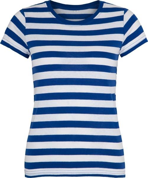Striped T-Shirt blau-weiss
