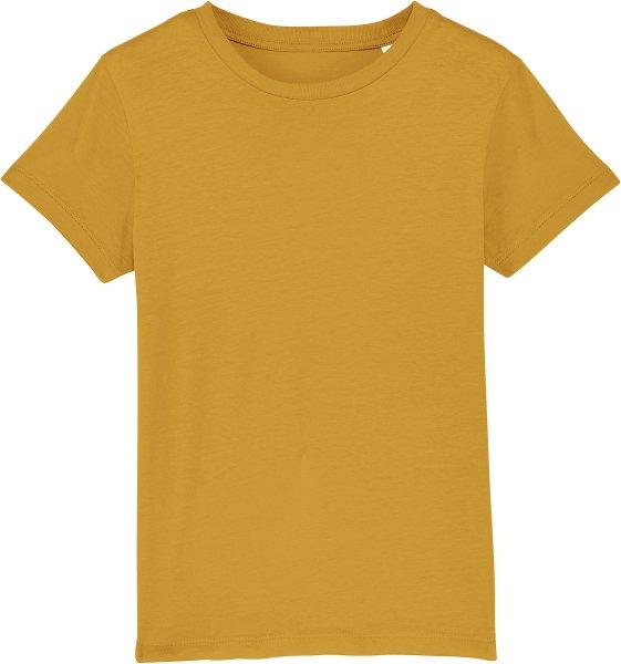 Kinder T-Shirt aus Bio-Baumwolle - ochre