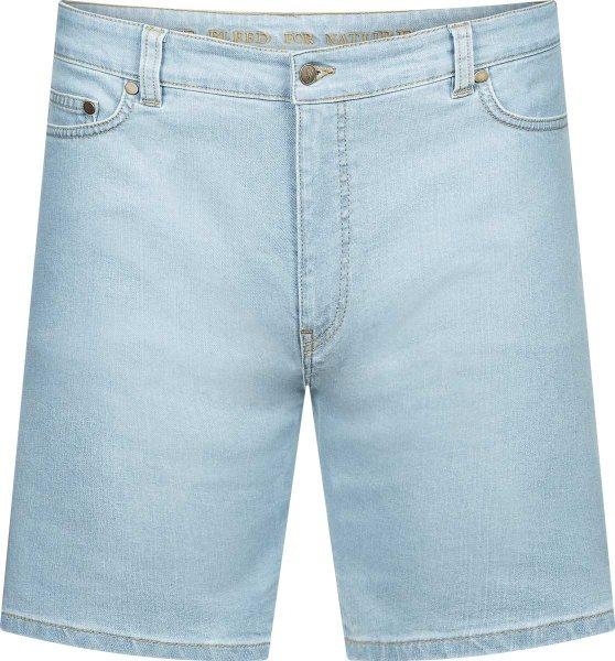 Jeans Shorts aus Baumwolle und Tencel - hellblau