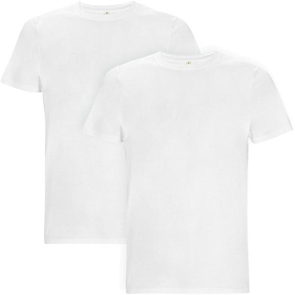 Doppelpack EP18 weiss - Dickes T-Shirt für Herren