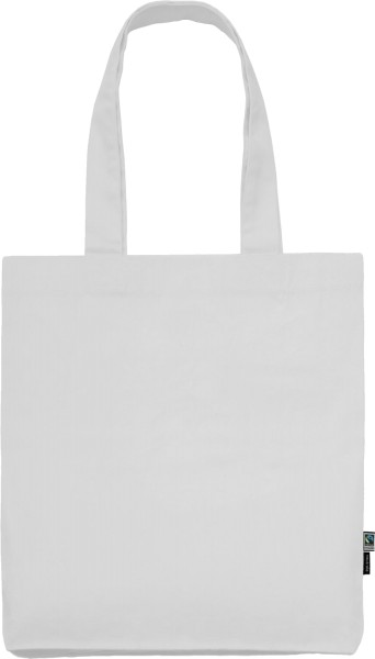 Weisser Shopper aus Bio-Baumwolle - Organic Twill Bag Fairtrade