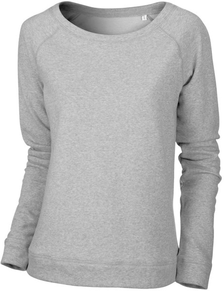 Escapes - Sweatshirt aus Bio-Baumwolle - grau meliert - Bild 1