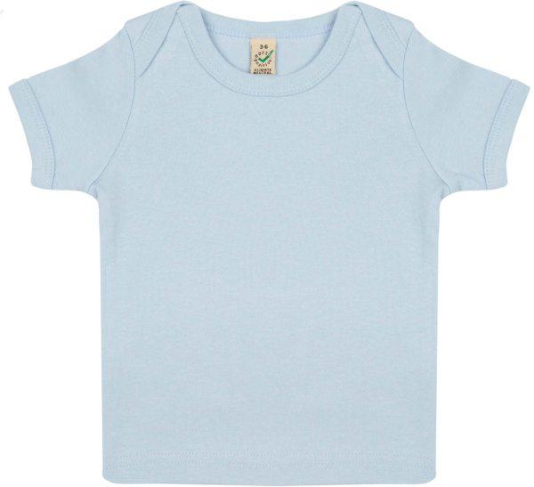 Baby T-Shirt hellblau bis 3, 6, 12 oder 18 Monate