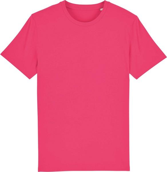 T-Shirt aus Bio-Baumwolle - pink punch