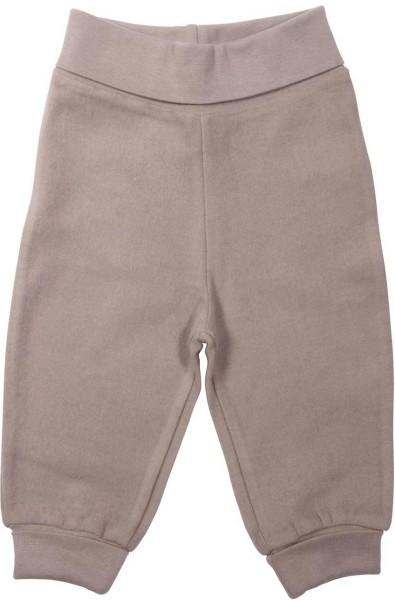 Baby Hose aus Bio-Baumwolle - taupe - Bild 1