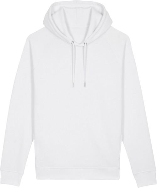 Unisex Raglan-Hoodie aus Bio-Baumwolle - white