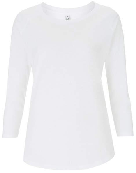 Tencel Shirt Damen weiss EP 47