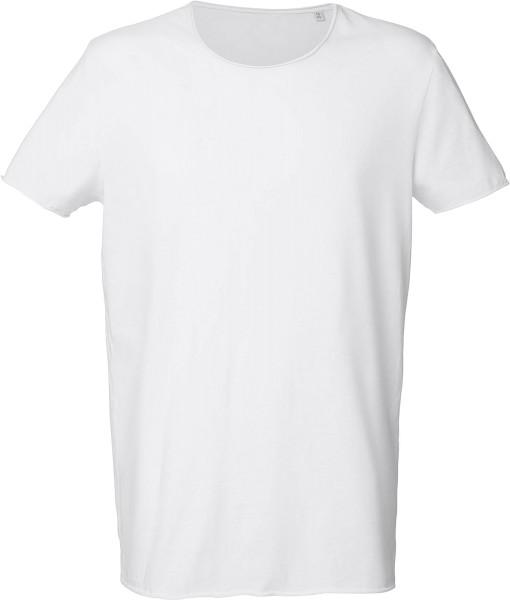 Weißes Long-Shirt aus Bio-Baumwolle