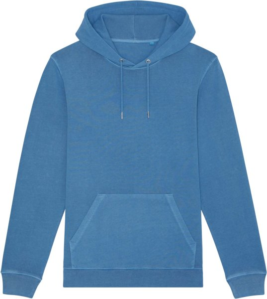Unisex Vintage Hoodie aus Bio-Baumwolle - g. dyed cadet blue