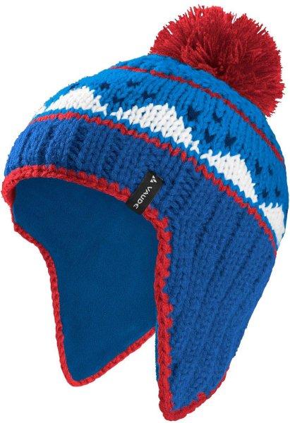 Kinder Mütze Knitted Cap IV - signal blue