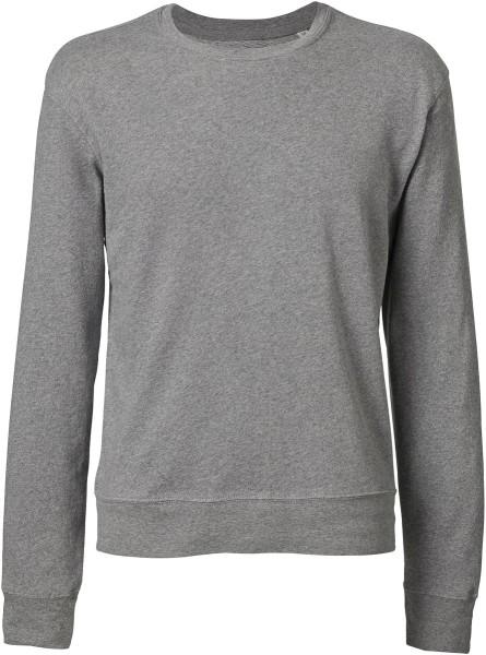 Leichter Sweater aus Bio-Baumwolle - mid heather grey