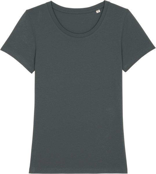 T-Shirt aus Bio-Baumwolle - anthracite