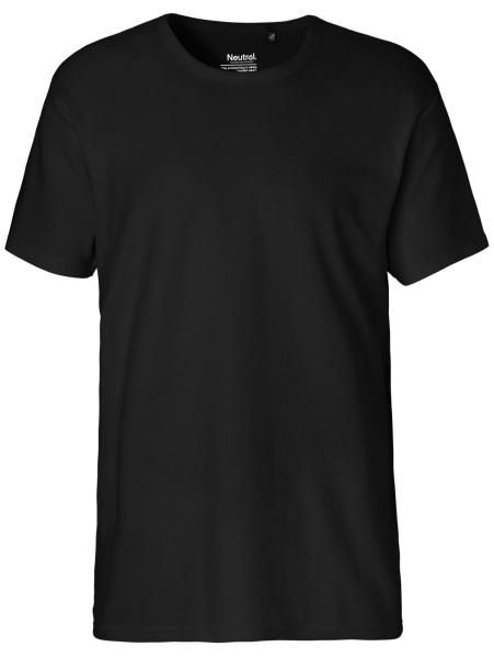 Interlock T-Shirt Herren Bio-Baumwolle - Neutral